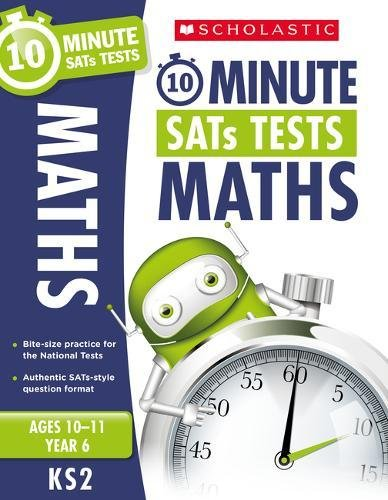 Maths - Year 6 (10 Minute SATs Tests) por Tim Handley