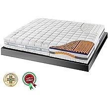 Materasso Memory 3000 Matrimoniale.Amazon It Materasso Memory Matrimoniale 160x190 Goldflex