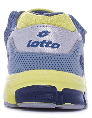 Lotto Zenith unisex kinder, canvas, sneaker low Blu Pow/Grn Liz