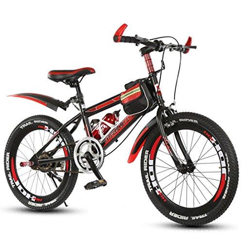 Vélo Pour Enfants Vélo De Montagne Enfants Garçons Et Filles Cyclisme Non Variable Vitesse 18 Pouces 20 Pouces 22 Pouces ( Size : Red 20 inch )