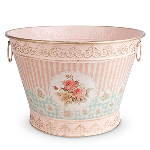 Epic Products Floral Vintage Chic Ice Bucket , Large, Multicolor by EPIC