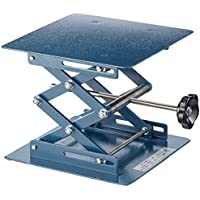 Neolab Electric 1708Lab polissage Pad Lift, léger avec revêtement en poudre en métal martelé en acier 200mm x 200mm