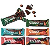 nucao. Schokolade neu gedacht -Mixed Box- Vegane Zartbitter Schoko-Riegel aus crunchy Hanf-Nüssen & Single Origin Kakao…