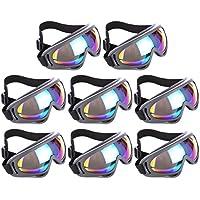 MRKE Gafas de protección, 2Paquete UV de protección exterior parte Seguridad Gafas regulable Eyewear para Nerf N-Strike Elite parte, color ver imagen, tamaño 2 Packung