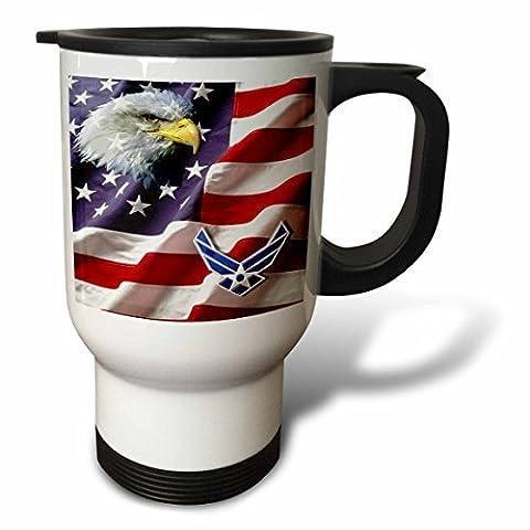 statuear United States Air Force Air Force 14-Ounce Tasse de voyage en acier inoxydable