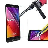 HQ-CLOUD Film Vitre Verre Trempé de protection d'écran pour ASUS Zenfone 4 SELFIE ZD553KL - TRANSPARENT