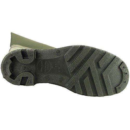 Dunlop cuisse Wader 142VP PP/bottes pour homme Green