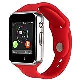 Kivors 2017 Nuovo Modello A1 Orologio Smartwatch da Polso Supporta Schede TF per IOS Android Samsung Sony LG HTC Iphone7/6s/6/5s/5 Fitness Bluetooth Touch Screen Fotocamera con Slot SIM Card 2.0 immagine