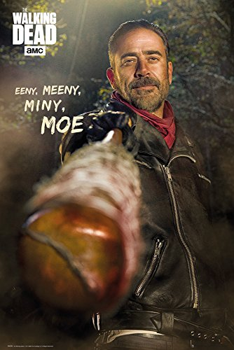 GB Eye Maxi-Poster The Walking Dead Negan, Holz, Mehrfarbig, 61 x 915 cm
