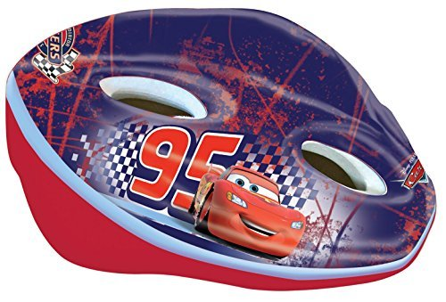 Disney 35511 Cars 2 Casco de Ciclista Infantil (52-56 cm), Multicolor