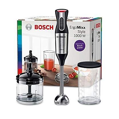 Bosch-MS6CB6110-ErgoMixx-Stabmixer-Set-starke-Leistung-Edelstahl-Mixfu-Mixbecher-mit-Deckel-12-Geschwindigkeitsstufen-1000-Watt-schwarz