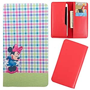 DooDa - For Lenovo S580 PU Leather Designer Fashionable Fancy Case Cover Pouch With Card & Cash Slots & Smooth Inner Velvet