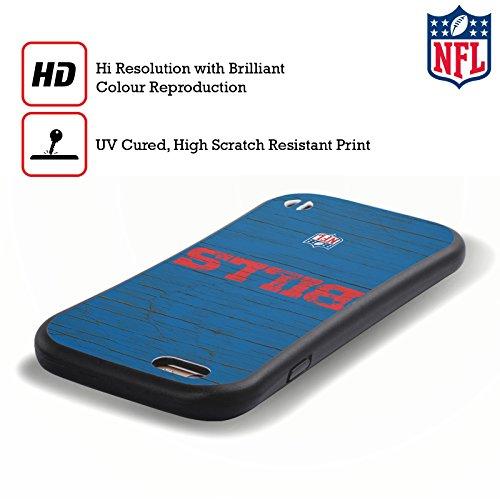 Ufficiale NFL Camou Buffalo Bills Logo Case Ibrida per Apple iPhone 7 Plus / 8 Plus Disteso