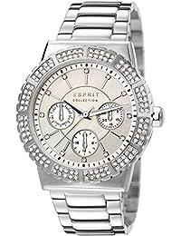 Esprit - EL102062F04 - Montre Femme - Quartz Analogique - Bracelet Acier Inoxydable Argent