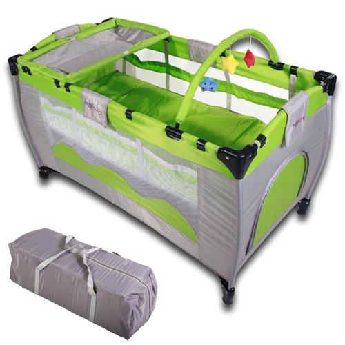 infantastic-kinderreisebett-babyreisebett-mit-babyeinlage-inkl-matratze-zubehor-grun