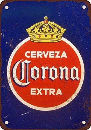 1940-corona-extra-cerveza-vintage-look-reproduccion-metal-tin-sign-12-x-16-pulgadas