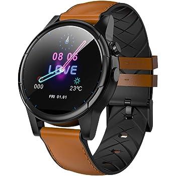 HUIGE 4G SmartWatch Impermeable con Pantalla OLED de 1,6 ...