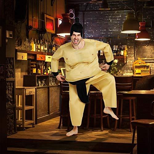 xuanyang524 Aufblasbare Sumo Wrestling Fat Suit Wrestling Fat Suit Fettleibige Kleidung Halloween Kostüm Blow Up Lustige Neuheit Cosplay - Fat Suit Kostüm Tanz