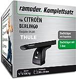 Rameder komplett-Set Dachträger WingBar für Citroen Berlingo (118382â 06731â 1)