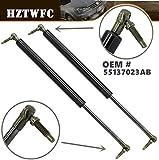 HZTWFC 2 pezzi Posteriore di sollevamento del portellone Supporta puntoni Aste di sostegno Coppia di ammortizzatori Set di sostituzione Ammortizzatore Baule posteriore a gas OEM # 55137023AB