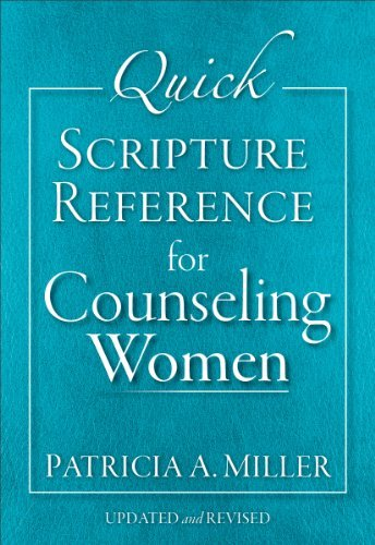 Quick Scripture Reference for Counseling Women by Patricia A. Miller (2013-09-15)