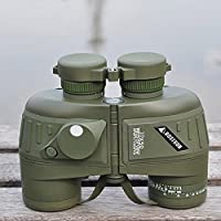 Binocular,Lixada 10X50 Telescope Spotting Scope Waterproof Shockproof for Sports Military Optics Hunting Camping Hiking Traveling Concert with Compass