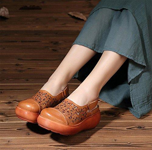 pengweiEt¨¦ sandales ¨¦pais respirantes dames chaussures sandales chaussures d¨¦contract¨¦es 2
