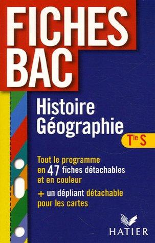 Histoire Géographie Tle S