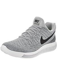 new arrival 4ba43 c0bf8 Scarpe da corsa Nike Lunarepic Low Flyknit 2 Wolf grigio   nero   grigio  freddo 6
