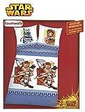 STAR WARS Kinder Bettwäsche Bettbezug Kissenbezug Clone Wars Bed Linen biancheria da letto