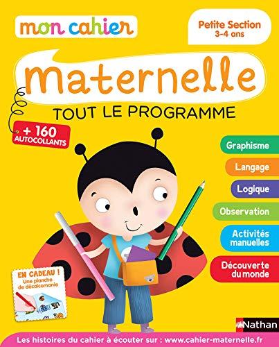 livre télécharger Mon cahier maternelle 3/4 ans