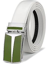 BULLIANT Hombre Cinturón-Cuero Automática Cinturón De Hombre 35MM-Tamaño  Ajuste 539d5d0d2aa3
