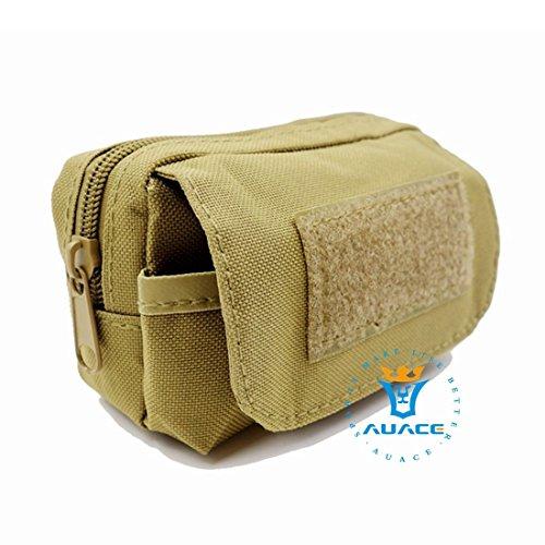 Multifunktions Survival Gear Tactical Beutel MOLLE POUCH Erkennung Taille Bag, Outdoor Camping Tragbare Travel Bags Handtaschen Werkzeug Taschen Handy Pouch KH