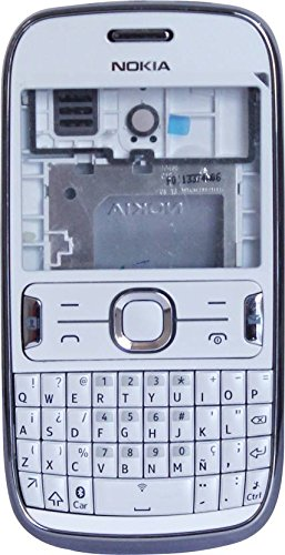 Nokia Asha 302 New Replacement Body Housing Front & Back Panel - Silver Color- ROKK'  available at amazon for Rs.849