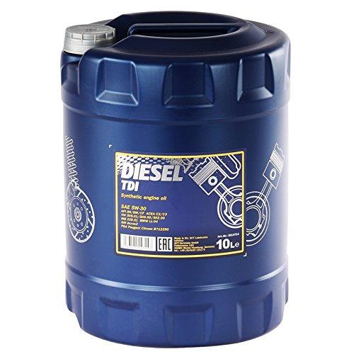 Preisvergleich Produktbild MANNOL Diesel TDI 5W-30 API SN / CF Motorenöl,  10 Liter
