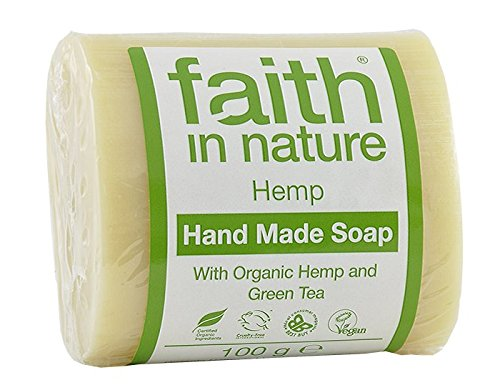 2-x-100g-bars-of-hemp-faith-in-nature-soap-and-a-bamboo-zoo-face-flannel-30cm-x-30cm
