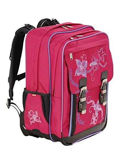 4You Flash Schulrucksack Classic Plus 344 Flower Lace 344 flower lace - 2