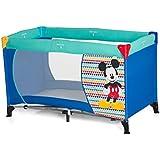 Hauck Disney Dreamn Play Cots, Mickey Geo Blue