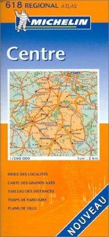 Atlas routiers : Centre, N°20618