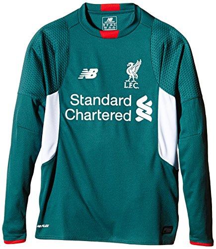 New Balance–Camiseta de Liverpool FC Away–Jersey de Manga Larga de Portero, Mediano B