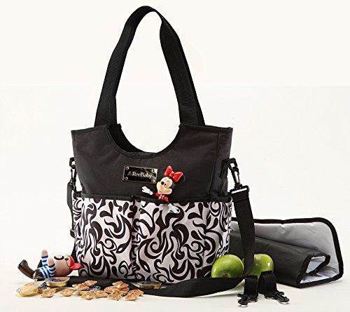 ReeBaby Diaper Bag (Black)