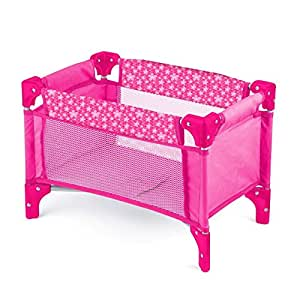 Toyrific Deluxe Dolls Travel Cot