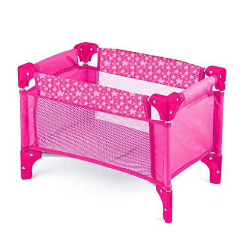 Toyrific Deluxe Dolls Travel Cot 513BGghQ61L