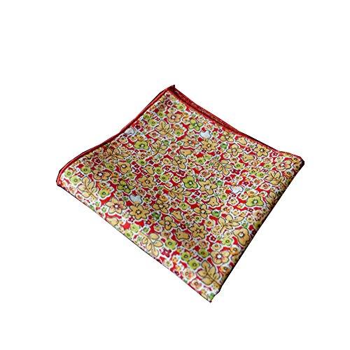 Sitong coton petit coton imprim¨¦ floral poche mouchoir carr¨¦ LKTS-007