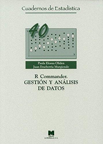 R Commander. Gestión y análisis de datos (Cuadernos de Estadística) por Paula Elosua Oliden