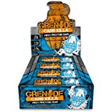 Grenade Carb Killa High Protein und Low Carb Bar, 12 x 60 g - Kekse und Sahne