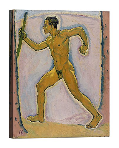 Bild auf Leinwand mit Keilrahmen aus Holz Koloman Moser The Wayfarer 70x50 CM