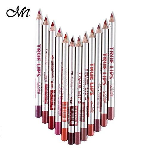 Me Now True Lips Lip Liner Pencil Set of 12