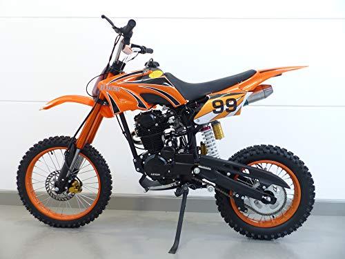 Preisvergleich Produktbild 250ccm Dirt Bike Dirtbike Cross Pitbike 250cc RV-Racing Enduro E-Starter Orange