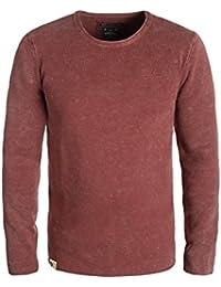 KHUJO Parsley Strickpullover, Größe:L;Farbe:Ac-Rust (R07)